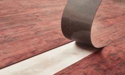 Lepená vinylová podlaha