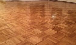 Povrchová úprava dřevěných podlah